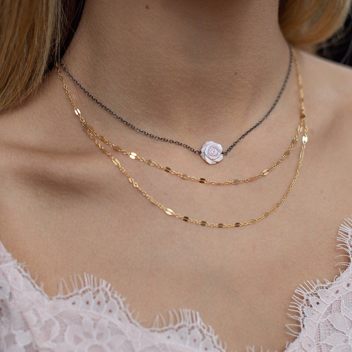 Rosie Necklace  - IsabelleGraceJewelry