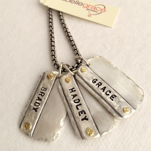 Scout Tag Necklace  - IsabelleGraceJewelry