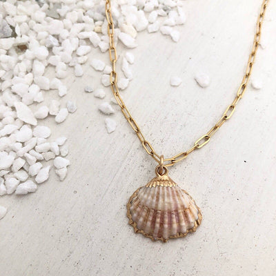She Sells Seashells Necklace  - IsabelleGraceJewelry