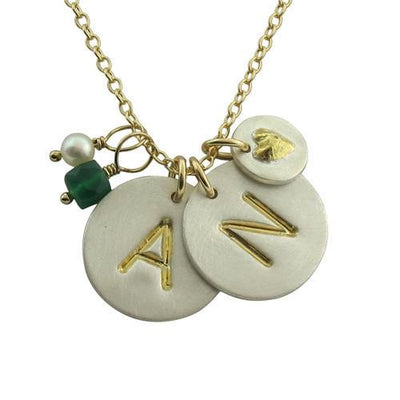 Signature Initial Necklace  - IsabelleGraceJewelry