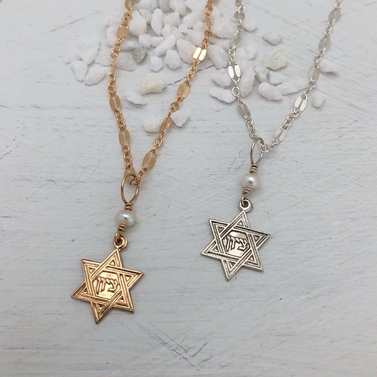 Star of David Dainty Necklace