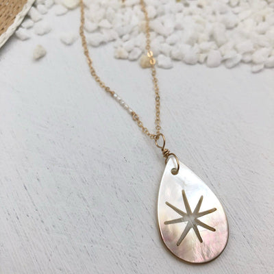 Starburst Shell Necklace