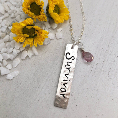 Survivor Necklace  - IsabelleGraceJewelry