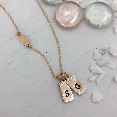 Tiny ID Tags Necklace