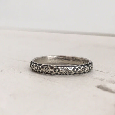 Vivian Stacker Band Silver  - IsabelleGraceJewelry