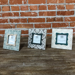 3x3''  wood picture frame 3 ASST.