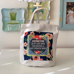 Fabric Tote Bag - CREMATION