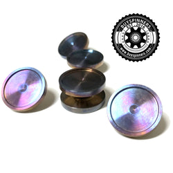 Flame Treated Fidget Spinner Bearing Buttons