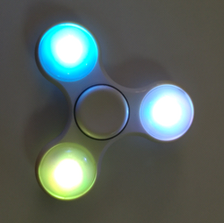 LED Fidget Spinners by CO-Innovate