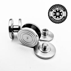 Stainless Steel Bearing Button Version 2