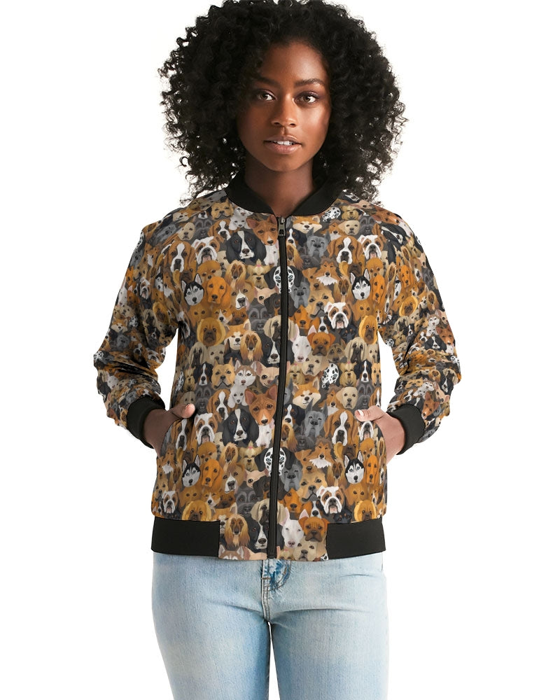 Dogs Galore Women's Bomber Jacket