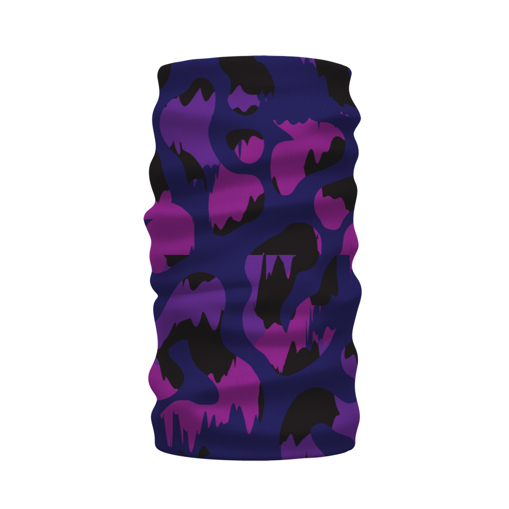 Camoflage Purple Sublimation Neck Warmer Morf Scarf