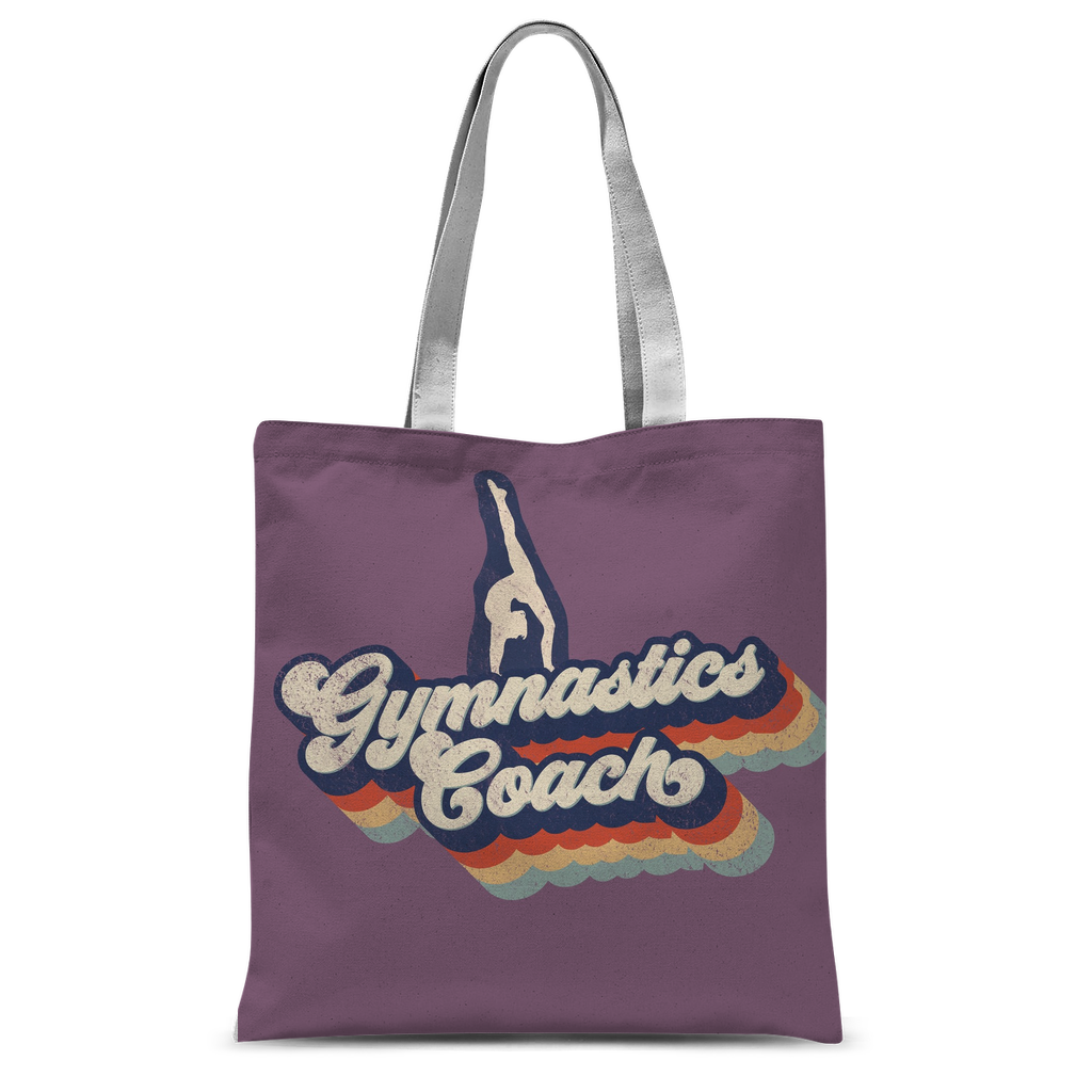gymnastics coach Classic Sublimation Tote Bag