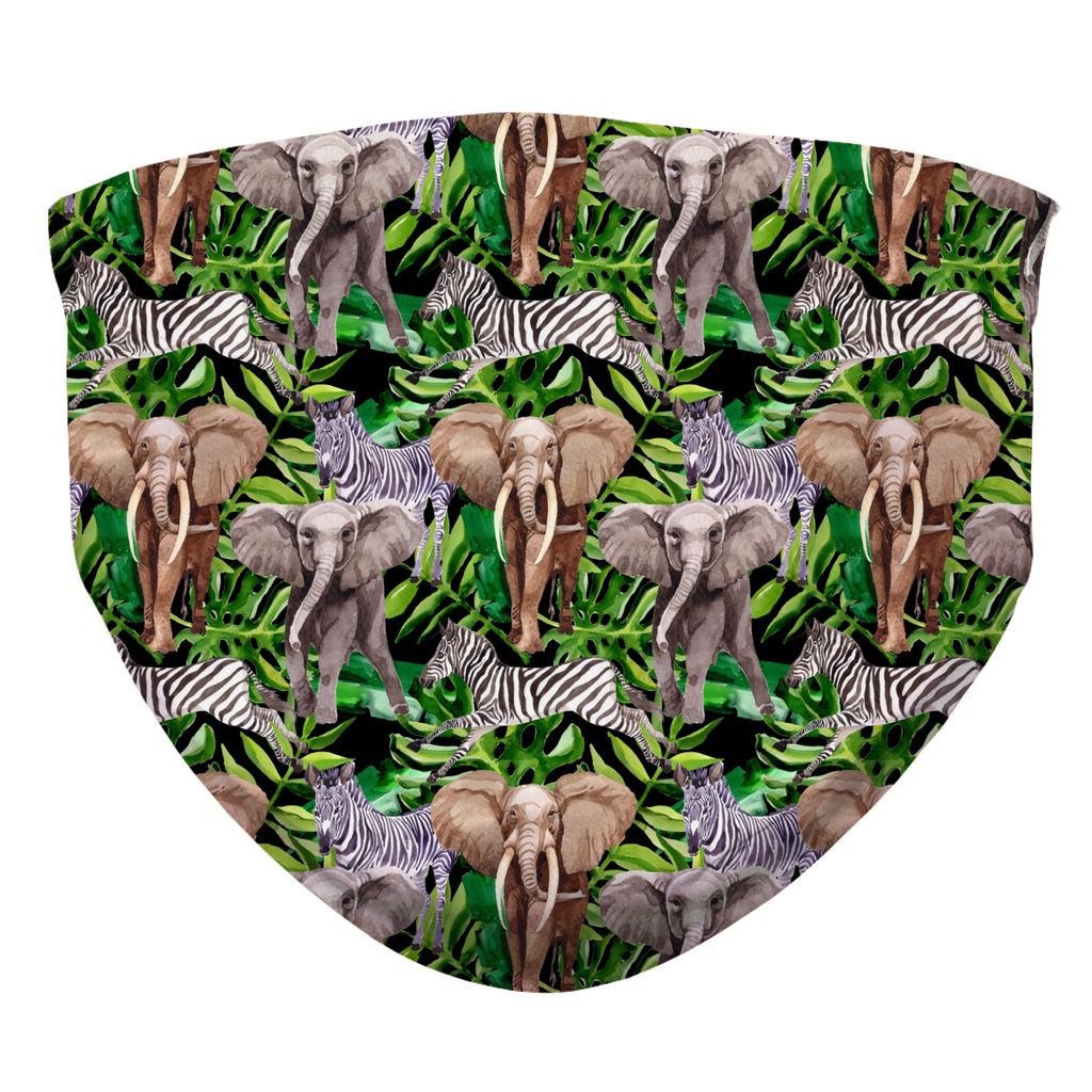 Elephant Sublimation Face Mask