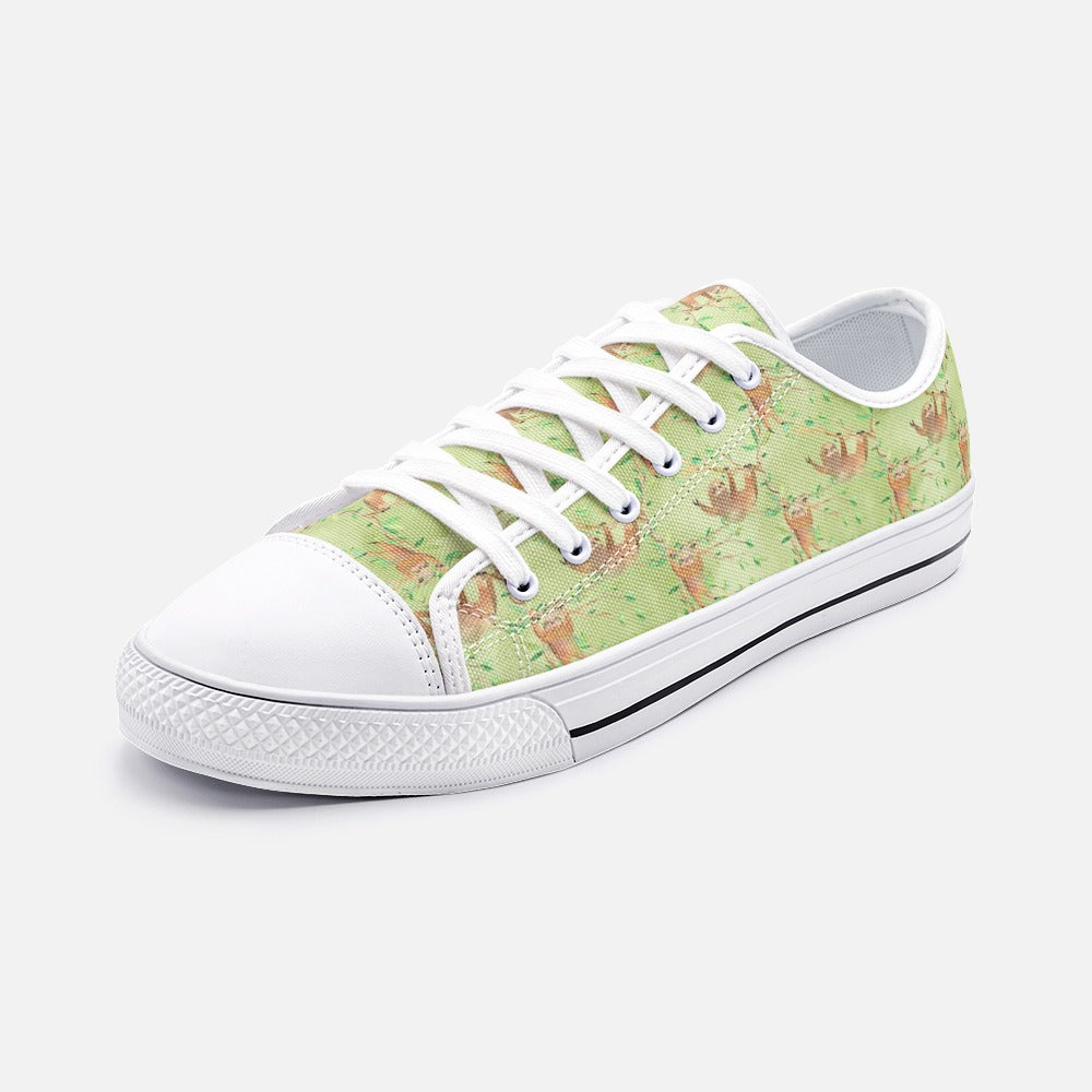 Sloth Low Top Canvas Shoes
