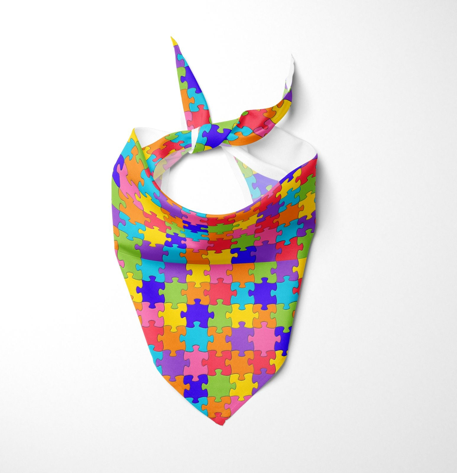 Autism Awareness Dog Bandana
