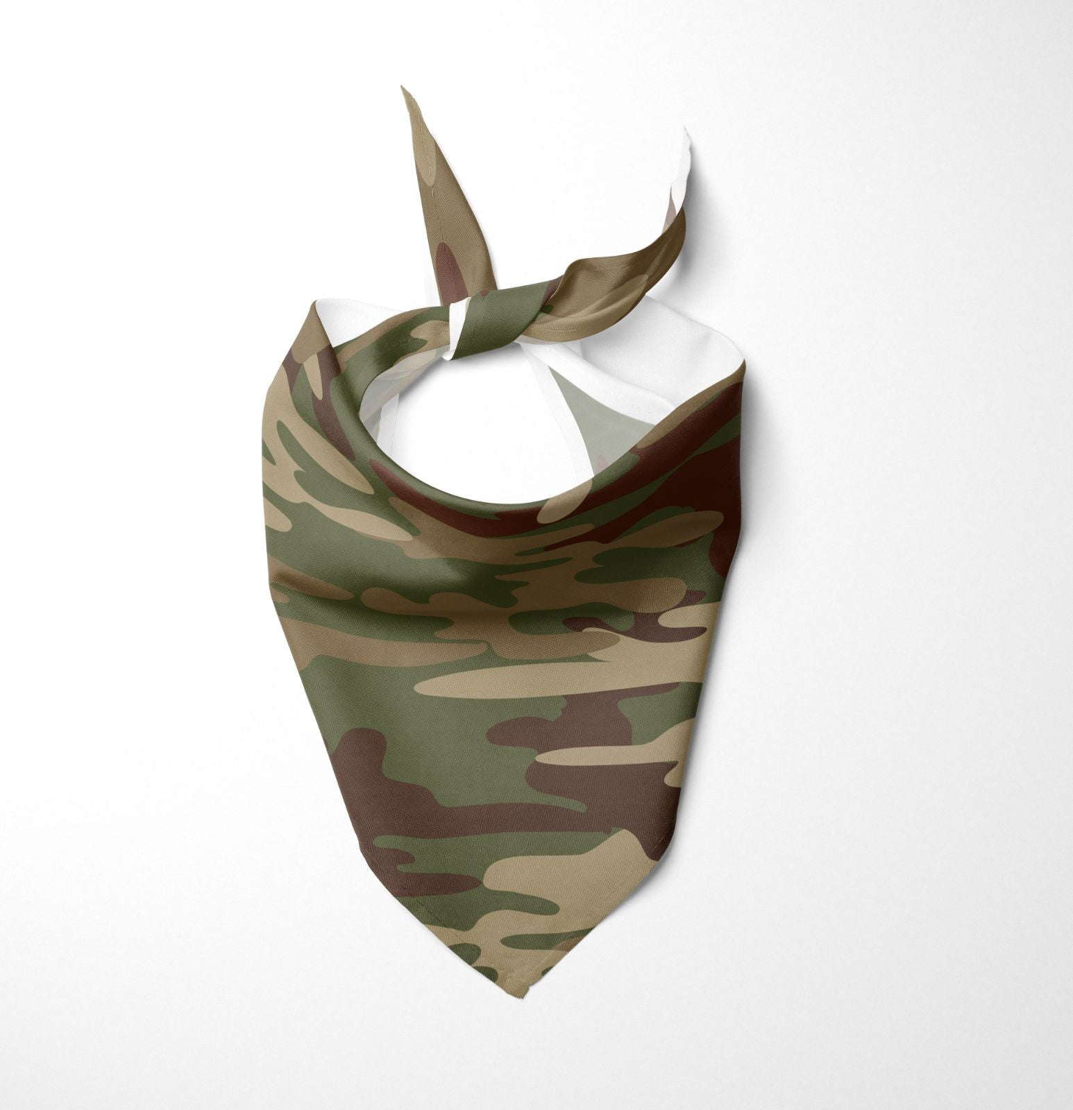 Army Green Dog Bandana