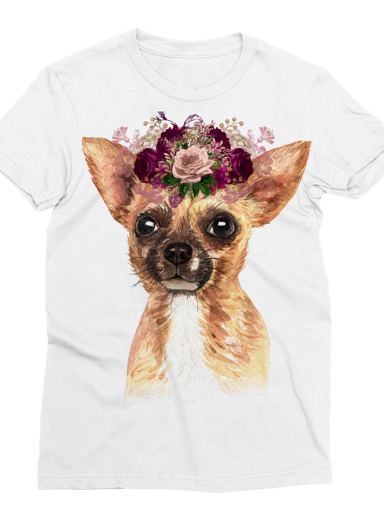 Chihuahua Classic Sublimation Women's T-Shirt