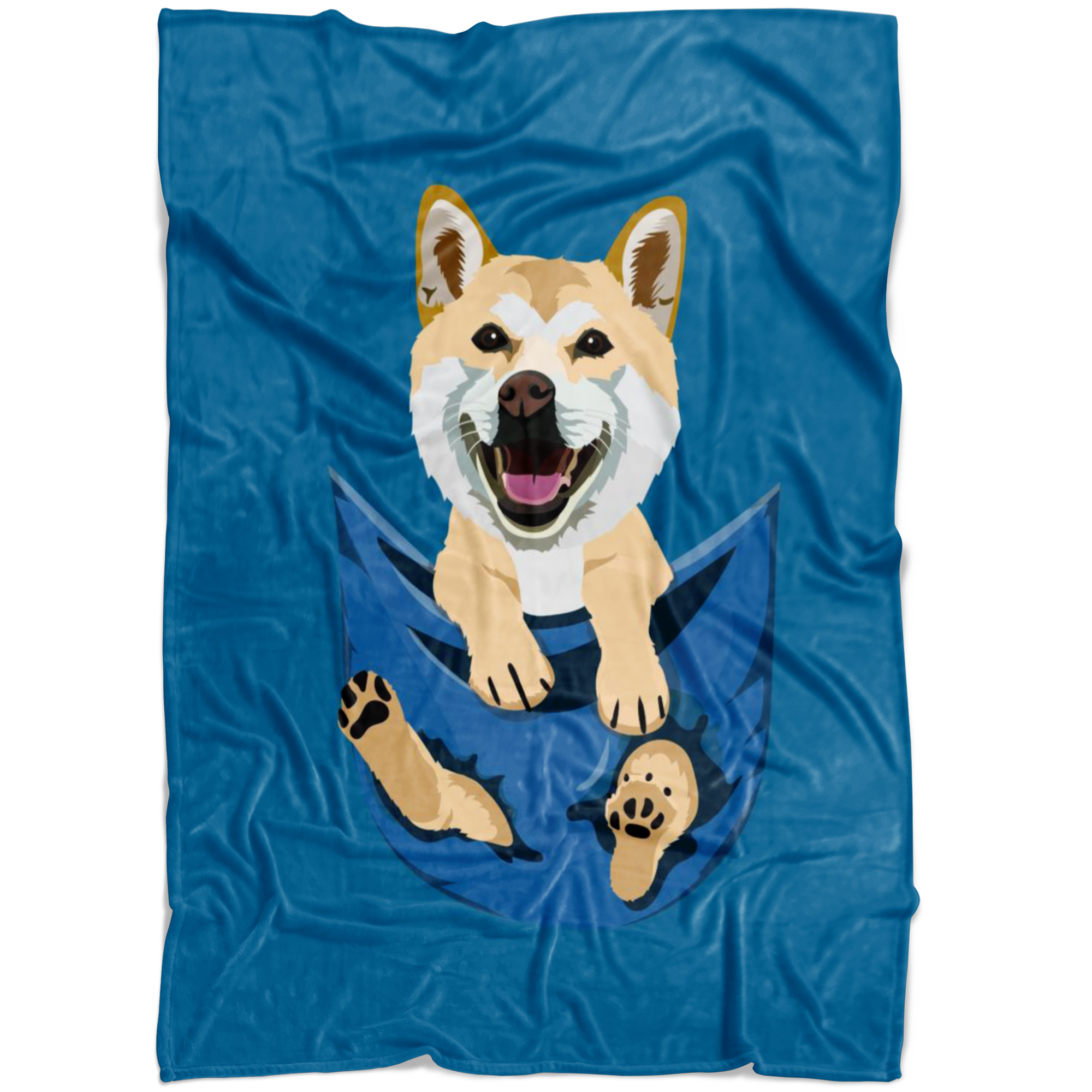 Pocket Buddies Blanket -Completely Customizable With Your Own Pet