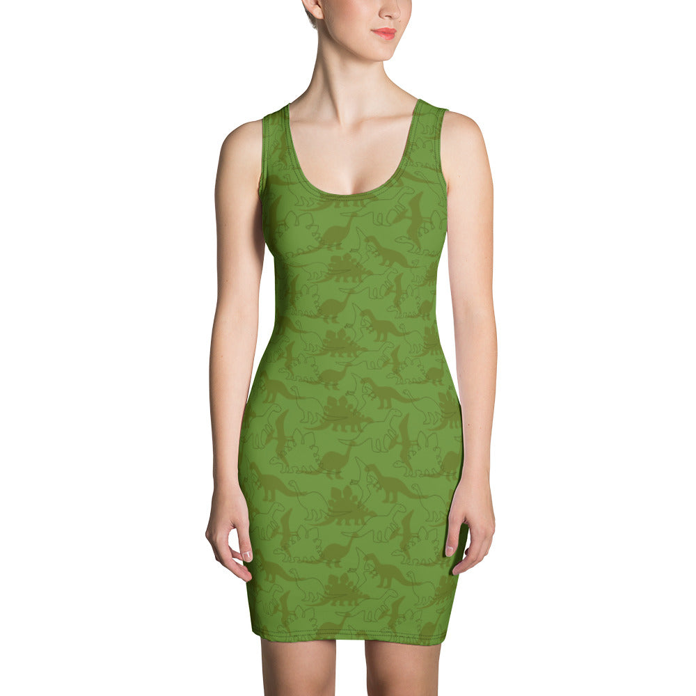 Dinosaur Bodycon Dress
