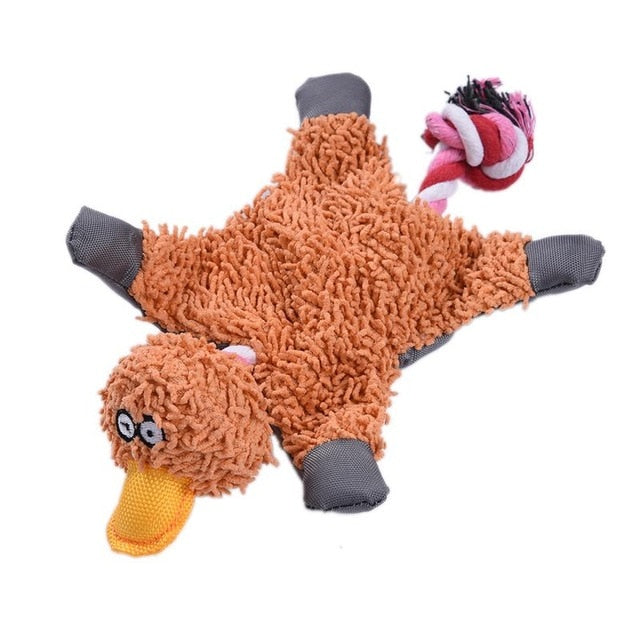 Brown Pet Dog Squeaky Toy