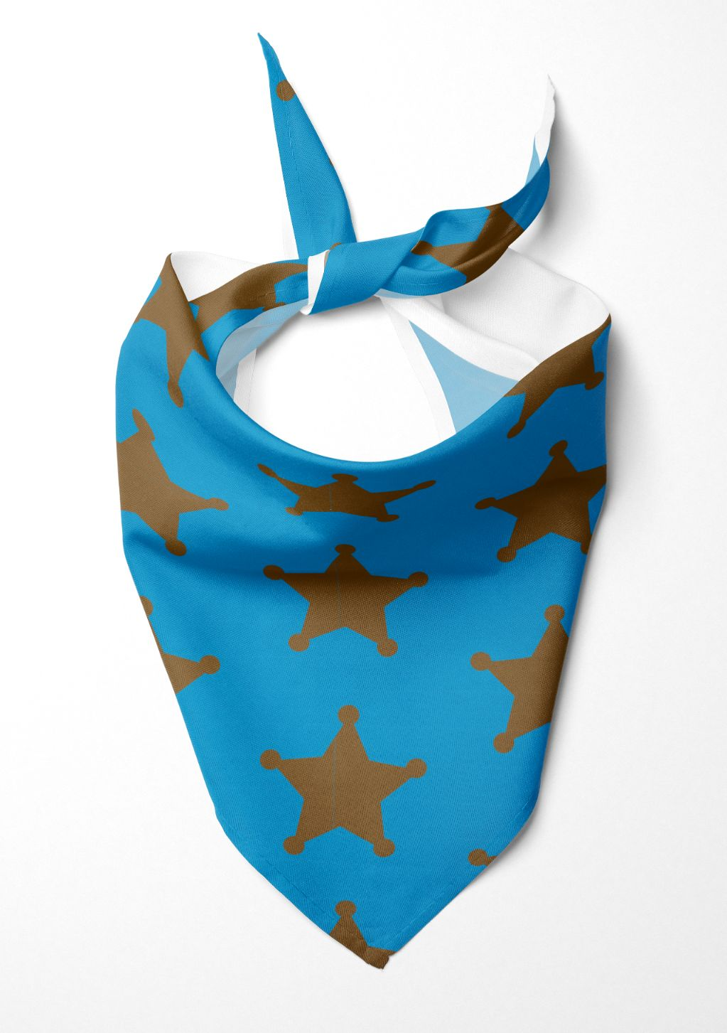 Sheriff Blue Dog Bandana