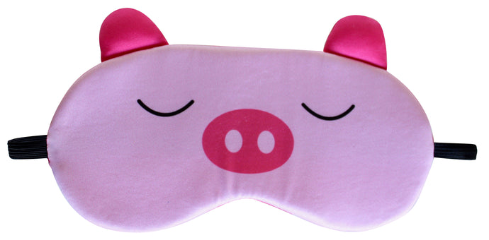 Nido Nest Sleep Eye Mask for Kids - Cute Masks for Night, Travel, Sleeping PIG