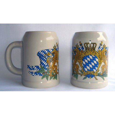 Bavarian Crest Beer Mug - All Steins