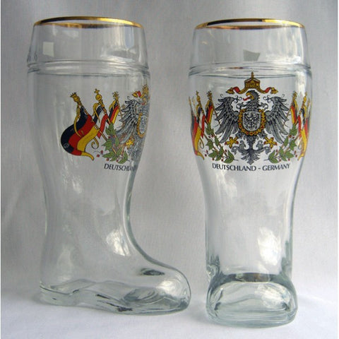 Deutschland - Germany Beer Boot - All Steins