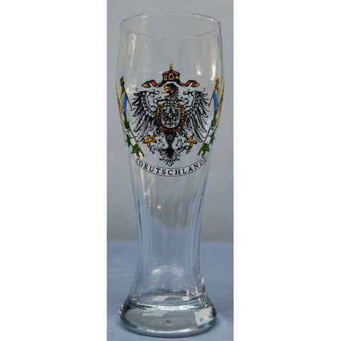 1/2 Liter Deutschland Glass with Eagle