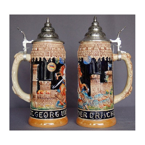 Rhine Castle Beer Stein - All Steins