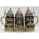 1 Liter Deutschland Stein with Cities and Crests