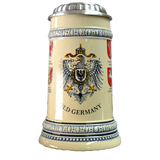 Beige Germany Crest Stein - All Steins