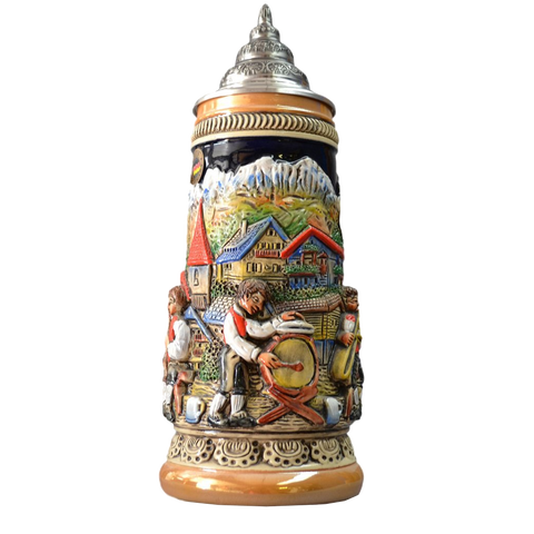 Alpenland Double Relief Stein - All Steins