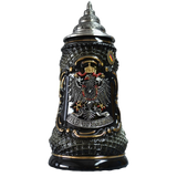 Black and Gold Lozenge Stein - All Steins