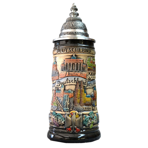 Deutschland Germany Panoramic City Stein - All Steins