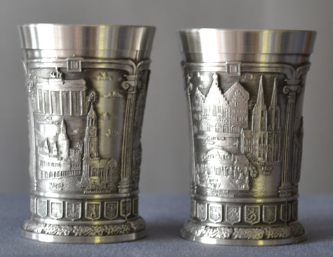 Nurnberg Shot Glass with Shields