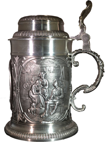Rothenburg Pewter Beer Stein - All Steins