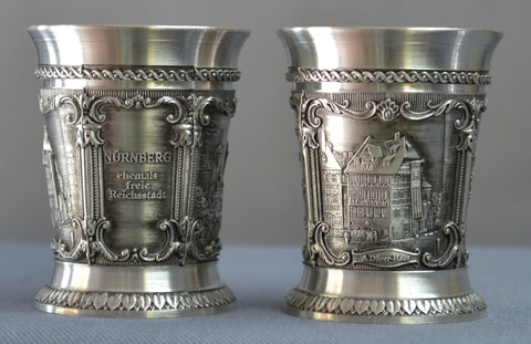 Nurnberg Shot Glass - All Steins