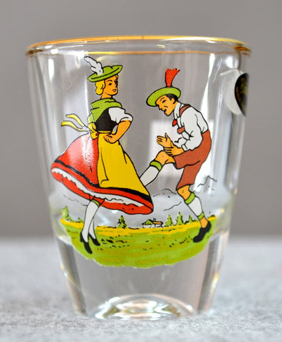 Dancing Couple Shot Glass - All Steins