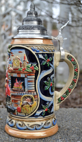 Santa at Home - All Steins