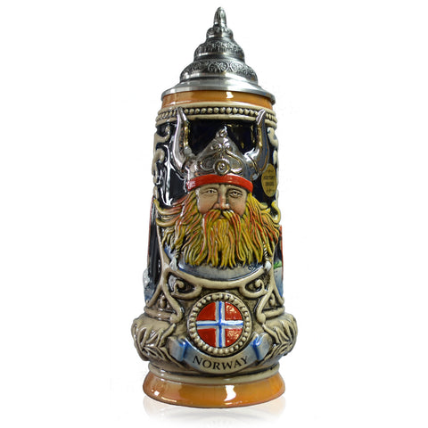 Norway Relief Stein Cobalt - All Steins