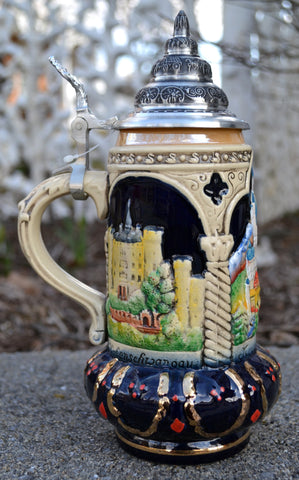 Neuschwanstein Beer Stein - All Steins