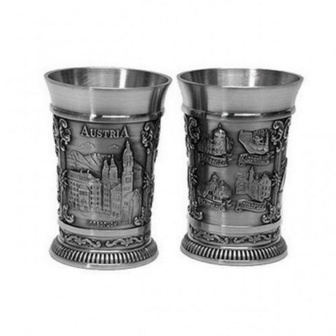 2 Stamper Innsbruck Shot Glasses - All Steins