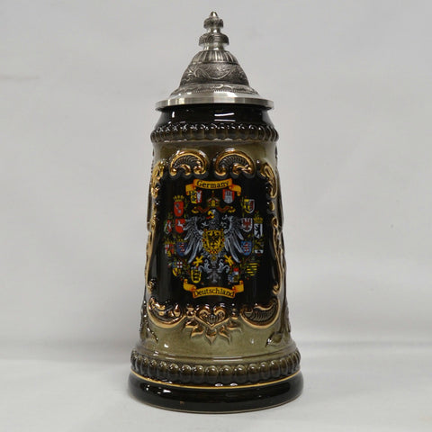 1/4 Liter Gold Embossed Germany Stein
