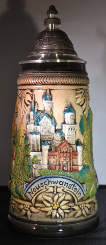 Munchen, Neuschwanstein, and Rothenburg Stein - All Steins