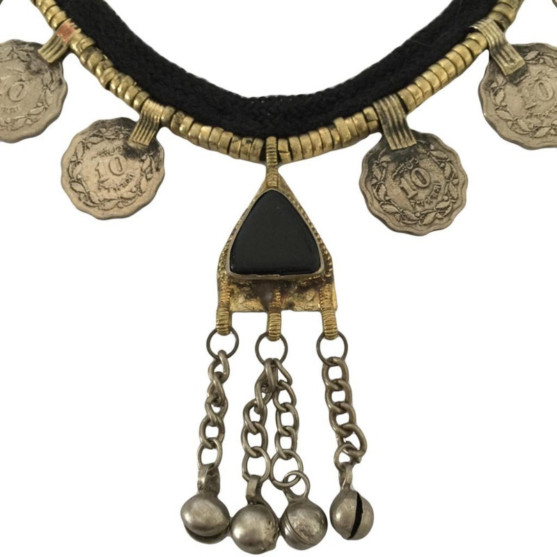 Sage Coin Necklace