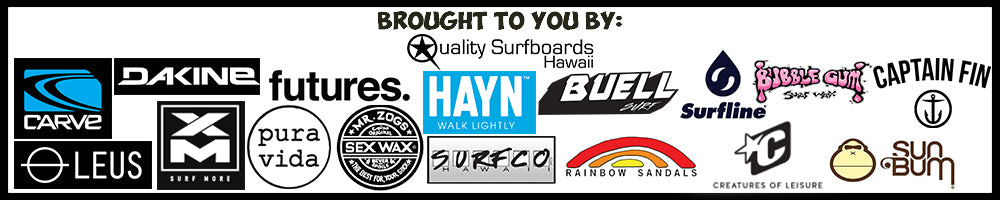 quality surfboards hawaii CRSCS sponsors