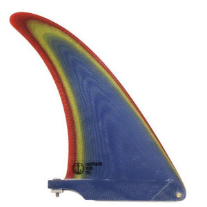 "Captain Fin Co. Alex Knost 7.5"" Longboard Fin back"