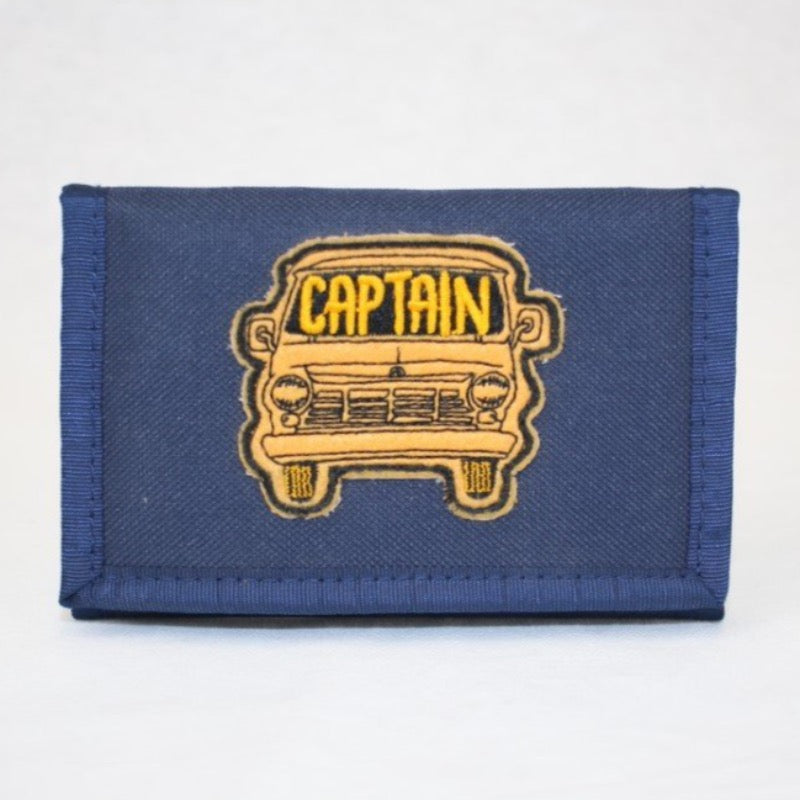 Captain fin Hi Beams wallet